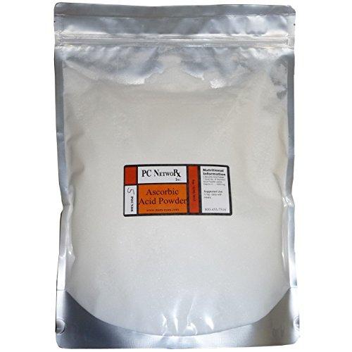 5 lbs Bulk Ascorbic Acid Powder
