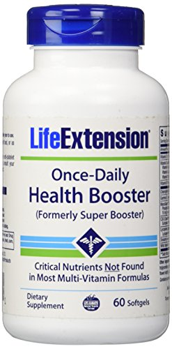 Life Extension Once-Daily Health Booster, 60 Count