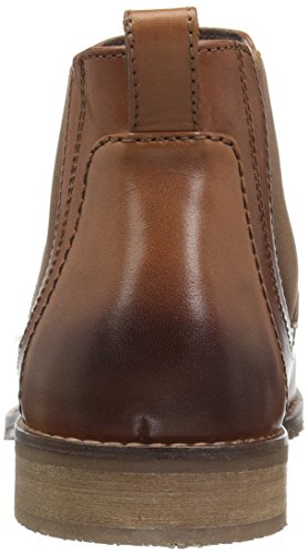 Nunn Bush Mens Hartley Side Gore Chukka Boot Cognac