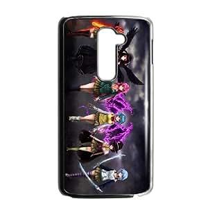 LG G2 Cell Phone Case Black Rosario + Vampire 08 Upmop