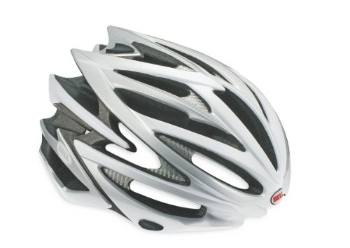 Bell Volt Bike Helmet (Silver/White, Large)