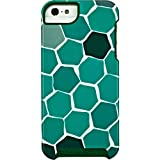 Trina Turk Dual Layer Protective Case Cover for iPhone SE 5S 5 - Green Turtle (Renewed)