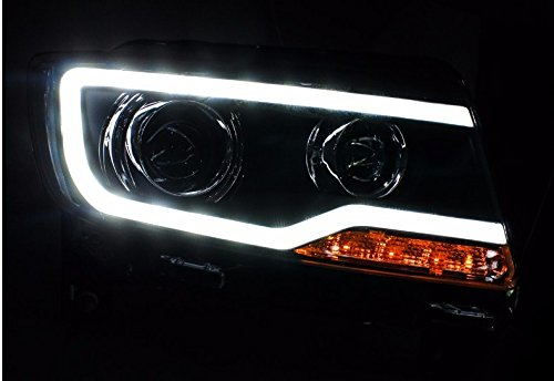 GOWE Car Styling for JEEP Compass 2011-2015 LED Headlight for Compass Head Lamp LED Daytime Running Light LED DRL Bi-Xenon HID Color Temperature:4300K;Wattage:55K 3