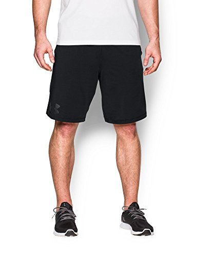 Under Armour Men's Raid Graphic Shorts, Black/Anthracite, XX-Large
