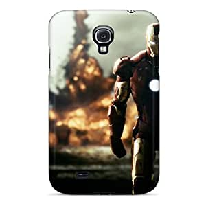 HLZ1114ZTpa Case Cover Protector For Galaxy S4 Iron Man Series By Marvell Case