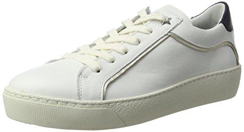 Tommy Hilfiger S1285uzie 1a1, Zapatillas para Mujer Blanco (White)