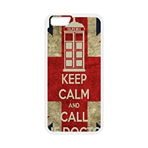iPhone 6 Plus 5.5 Inch Cell Phone Case White Keep Calm Call Doctor Custom Phone Case Cover For Women CZOIEQWMXN31779