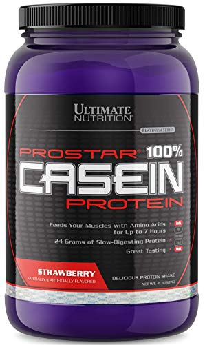 Anti Catabolic Formula - Ultimate Nutrition Hydrolyzed and Micellar Casein Anti Catabolic Protein Powder - 2 In 1 Rapid and Slow Digestion Formula, 2 Pounds, Strawberry