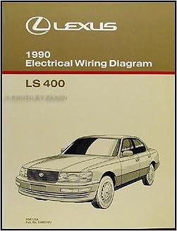 1990 lexus ls400 wiring diagram 1990 lexus ls 400 wiring diagram manual original lexus amazon  1990 lexus ls 400 wiring diagram manual