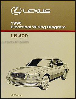 1990 lexus ls 400 wiring diagram manual original amazon com books rh amazon com 1999 Lexus LS400 Starter Diagram 1999 Lexus LS400 Starter Diagram