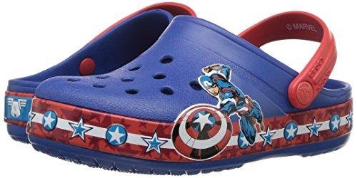 Pictures of Crocs Boys' CB FL Captain America CLG 205019 Blue Jean 4