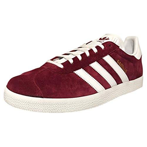 chollos oferta descuentos barato Adidas Gazelle Zapatillas Hombre Rojo Collegiate Burgundy Footwear White Footwear White 0 45 1 3 EU