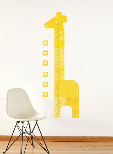 Other Nursery Petit Collage Fabric Wall Growth Chart Decal Giraffe