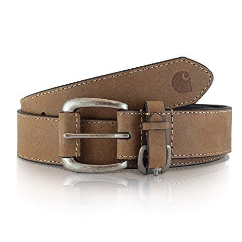 (Carhartt Women's Signature Casual Belt, Equestrian Brown, XL)