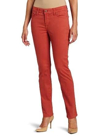 NYDJ Women's Petite Sheri Skinny Twill Jeans in Pastel, Venetian Rose, 6P