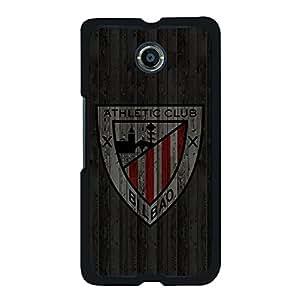 Google Nexus 6 Fashion Design Mobile Phone Case,Classical Creative Athletic Club de Bilbao Logo Delicate Google Nexus 6 Protective Shell Case