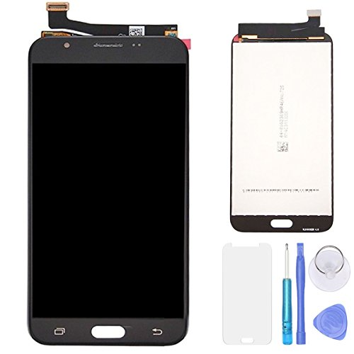 SPHENEL LCD Display Screen and Digitizer Touch Screen Assembly for For Samsung Galaxy J7 2017 J727 SM-J727A J727R4 J727V J727P (Black)