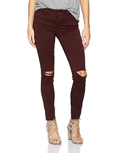 DL1961 Womens Margaux Denim Destroyed Ankle Jeans Purple 24 by DL1961