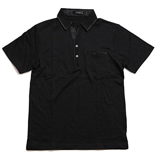 金銭的方法論重要Nota Bene(ノータベネ) スキッパーポロシャツ 半袖ポロシャツ 春夏 針抜きテレコ 胸ポケット シンプル カジュアル トップス 伸縮性 スタイリッシュ 大人ポロシャツ ゴルフウェア きれいめ メンズ