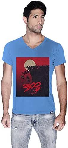 Creo Cotton V Neck T-Shirt For Men