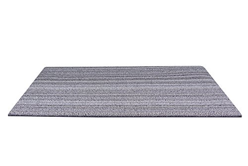 Chilewich Skinny Stripe Doormat, 18 by 28-Inch, Birch by Chilewich (Image #1)