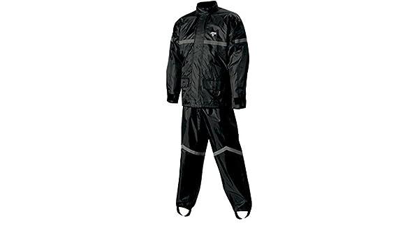 Nelson-Rigg SR-6000-BLK-02-MD Black Medium Stormrider Motorcycle Rain Suit