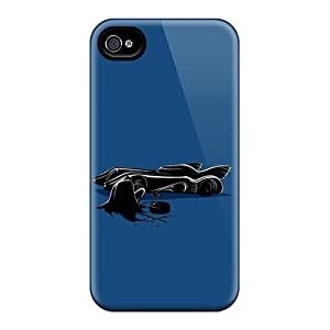 Hot Style WGzgc16912TDLUR Protective Case Cover For Iphone4/4s(batman)