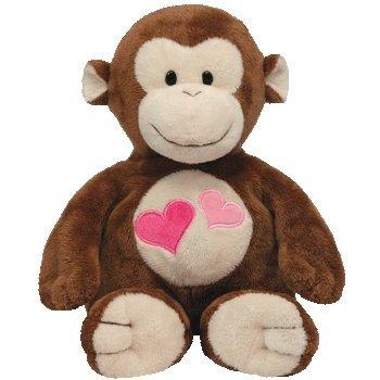 Ty Pluffies Lovesy Monkey