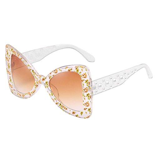 Polarisé Oeil Goggle Uv Big En Protection De Cadre Fauve Lunettes Unique Eyeglasses Papillon Élégant Rétro Forme Soleil Chat Surdimensionné Deylaying 5xUTwpq