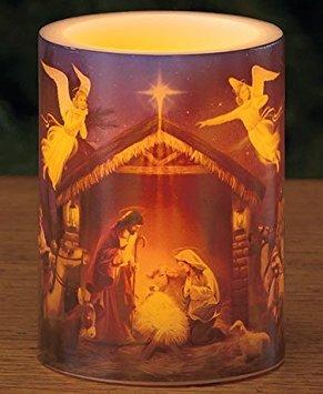 Nativity Candle - 2