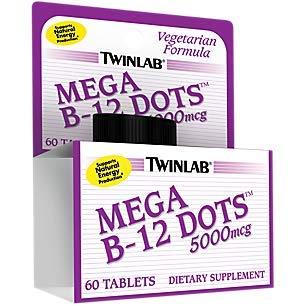 Mega B12 Dots - Sublingual B-12 Dots