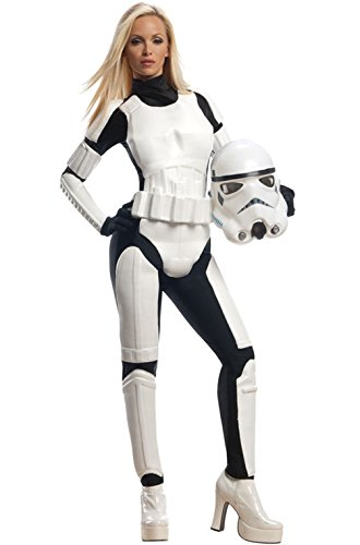[Mememall Fashion Women Stormtrooper Outfit Female Adult Costume] (Stormtroopers Outfit)
