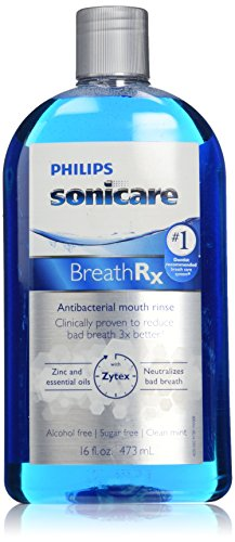 - Philips Sonicare Breathrx Antibacterial Mouth Rinse, 16 FL. OZ.