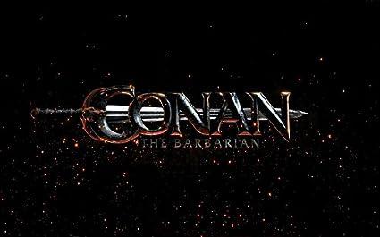 Conan The Barbarian Customized 38x24 Inch Silk Print Poster