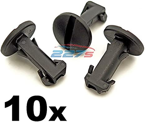 LAND ROVER DISCOVERY 3 4 REAR BUMPER TOW COVER CLIPS TOWING EYE TRIM TURN LOCK