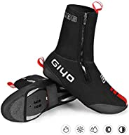 GIYO Cycling Shoes Covers, S-XXXL Neoprene Waterproof and WinterProof Bike Cycling Overshoes for Men Women Roa