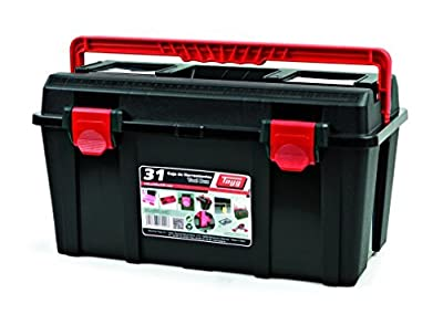 Raaco Germany Handelsgesellschaft mbH Tool Box 235 x 445 x 230 mm with Tool Tray Polypropylene by KAYSER GmbH