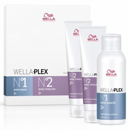 Wella Plex TRAVEL KIT No1 & 2X No2, 3.38 oz each