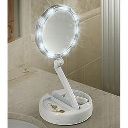 The Brighter Foldaway Vanity Mirror