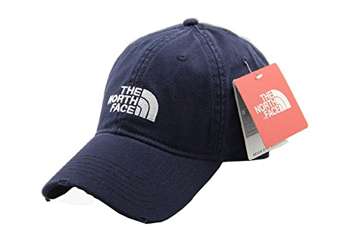 the-north-face-unisex-adjustable-horizon-classic-cap-blue-one-size