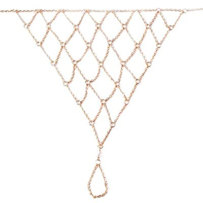 Barefoot Jewelry Multi Chain Mesh Net Alloy Anklet (1 pcs) 10in Mother's Day Gift