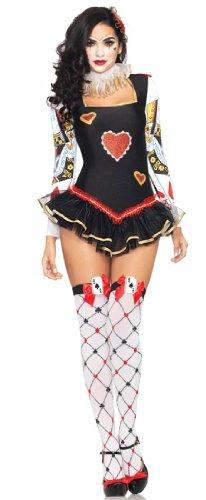 [Halloween Scary Clown Harlequin Honey Queens Guard Sexy Costume] (Queens Guard Costume)