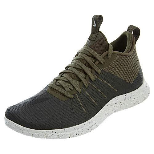 (Nike Men's Free Hypervenom 2 FS Medium Olive/Ivory/Black 805890-200 (SIZE: 9.5))