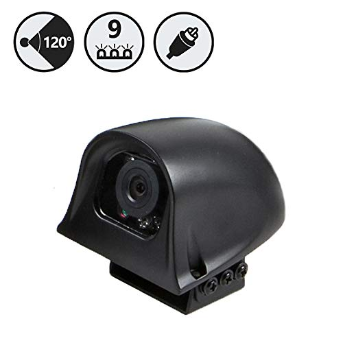 Rear View Safety 120° Right Side Camera with RCA Connection RVS-775R