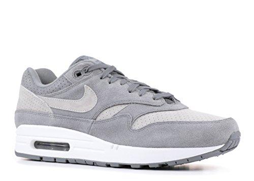 3b3849583c4 Galleon - NIKE Men s Air Max 1 Premium Shoe Cool Grey White Wolf Grey (9.5  D(M) US)