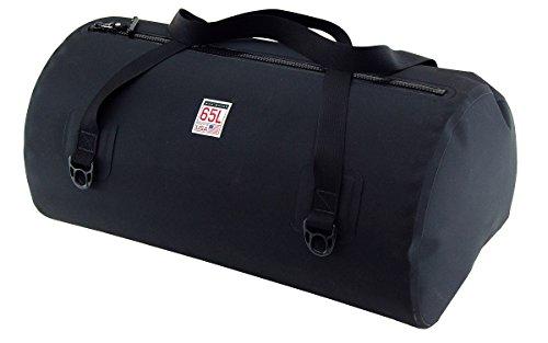Waterproof USA Duffel Bag, Matte Black, 65 L