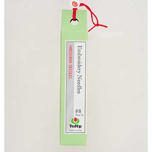Sewline Tulip Embroidery Needles, Size-8, 8-Pack ()