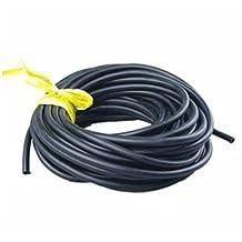 Exercise Band - SODIAL(R)Tubing Exercise Rubber Resistance Band Catapult Dub Slingshot Elastic, Black 10M