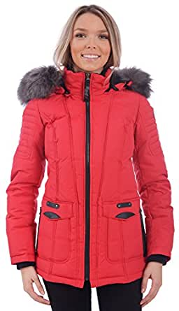 Amazon.com: RedX Canada Women's Short Puffer Down Winter