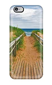 Defender Case For Iphone 6 Plus, Beach Pattern